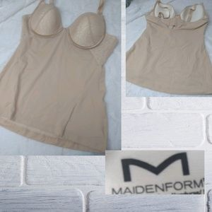 Maidenform 38C Bra and Body Sculpture